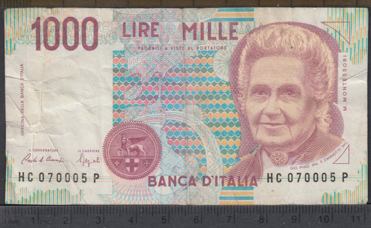 1990 - 1000 Lire - Italie
