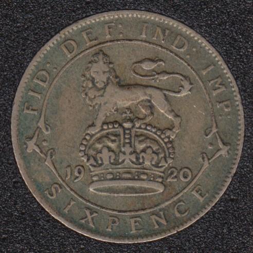 1920 - 6 Pence - Grande Bretagne