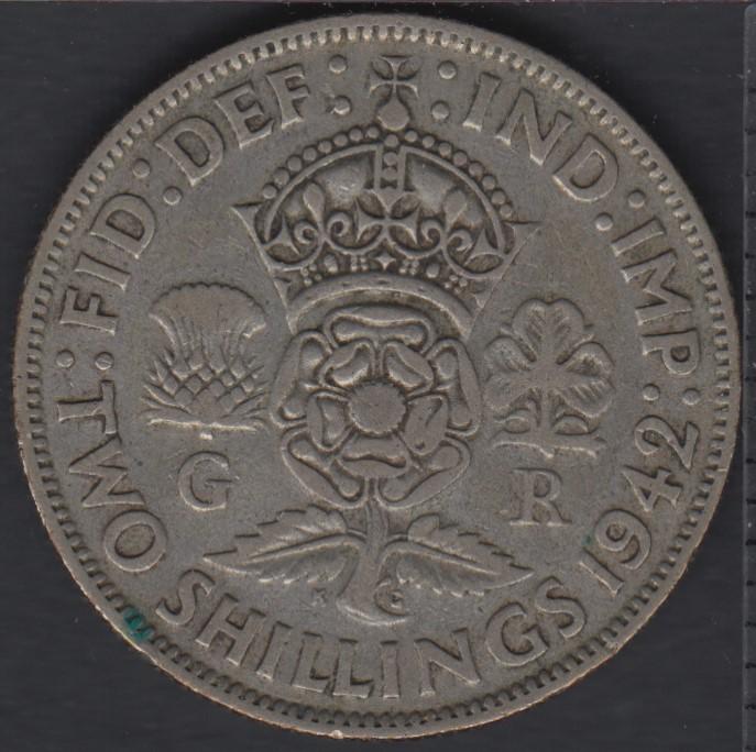 1942 - Two Shillings - Grande Bretagne
