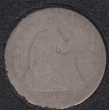 1844 O - Liberty Seated - Half Dime