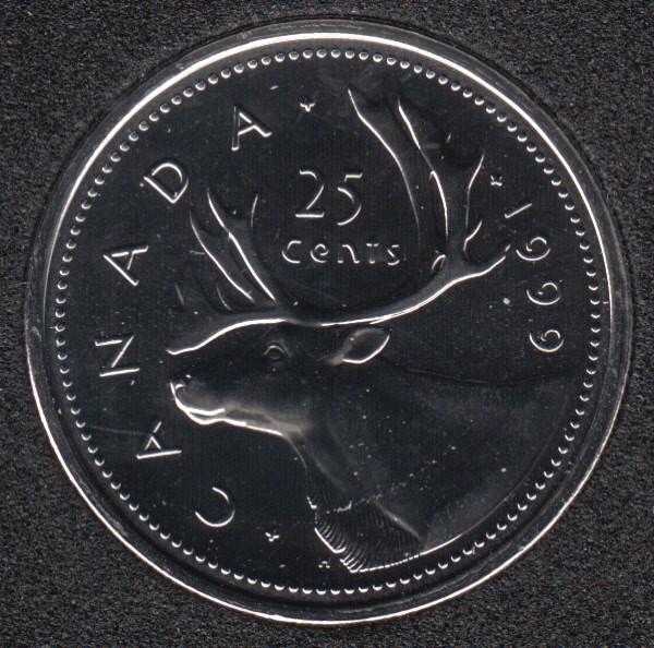 1999 - NBU - Canada 25 Cents