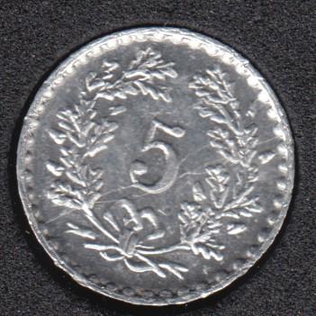 Play Money - 1979 Suisse - 5 Cent.