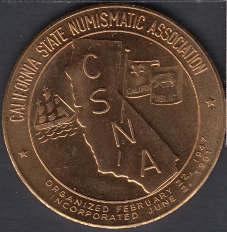 1965 - 37th Semi Annual Convention - California State Numismatic Association
