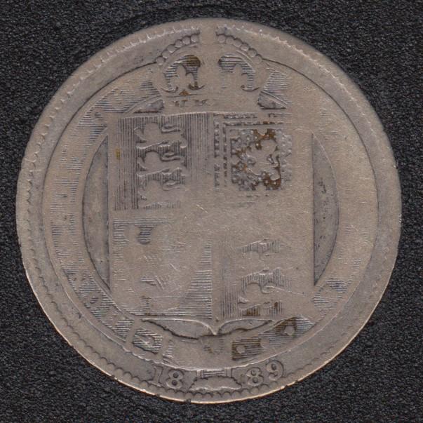 1889 - Shilling - Great Britain
