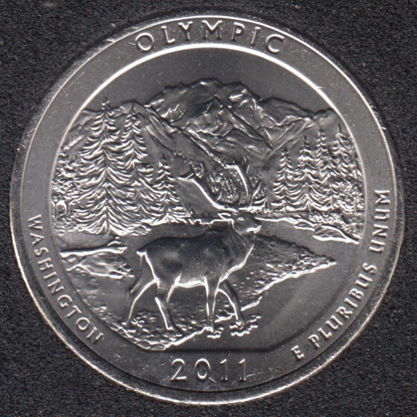 2011 D - Olympic - 25 Cents