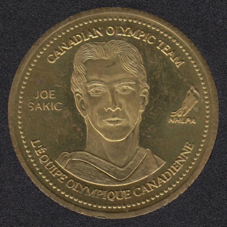2002 - Coca Cola - Joe Sakic - Equipe Canada Olympique