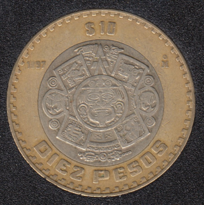 1997 - 10 Pesos - Mexico