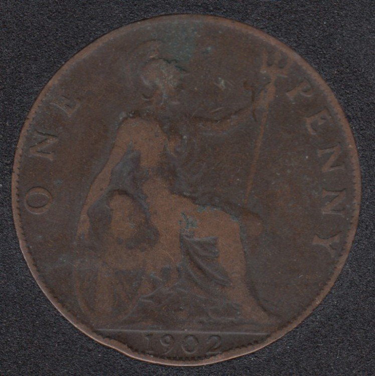1902 - Penny - Great Britain