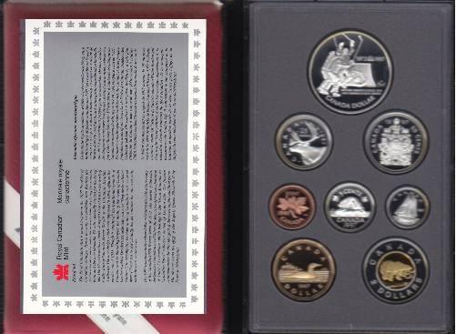 1997 CANADA DOUBLE DOLLAR PROOF SET