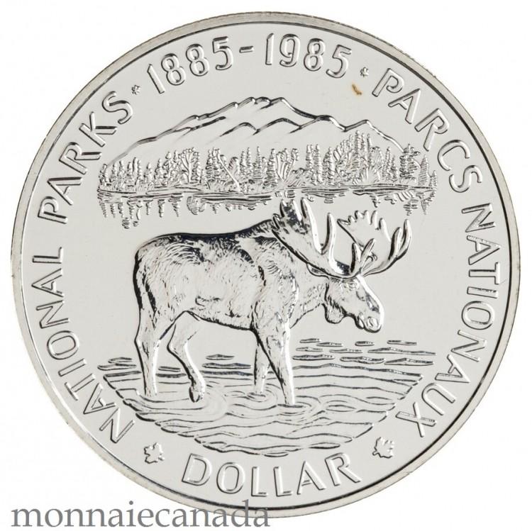 1985 DOLLAR EN ARGENT BRILLIANT INCIRCULE
