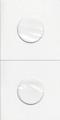 Paquet de 100 Flipettes de carton 2X2 pour les 5 cents