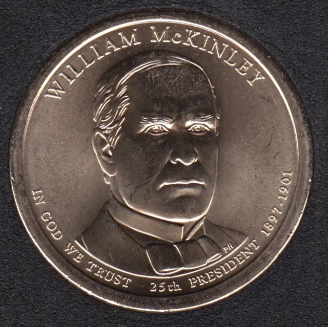 2013 P - W. McKinley - 1$