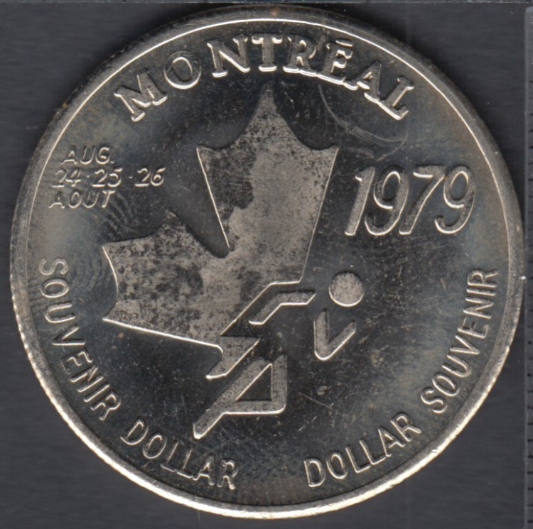 Montreal - 1979 - I.A.A.F World Cup - Race - Souvenir $1