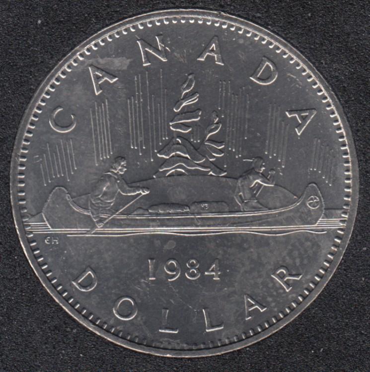 1984 - B.Unc - Nickel - Canada Dollar