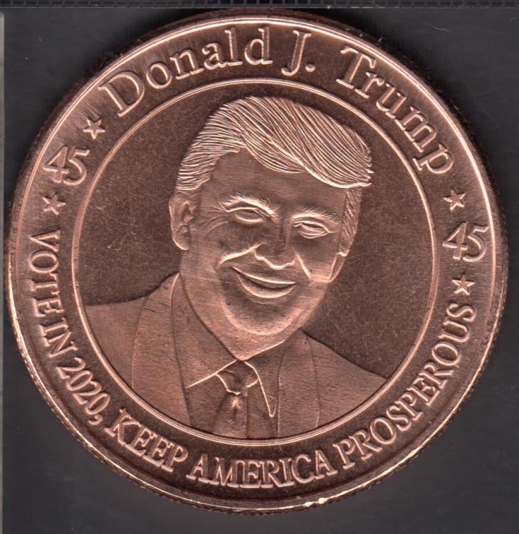 Donald J. Trump - 1 oz .999 fine Copper
