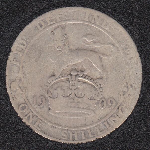 1909 - Shilling - Grande Bretagne