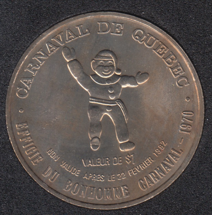1982 Carnaval de Quebec - Dollar de Commerce