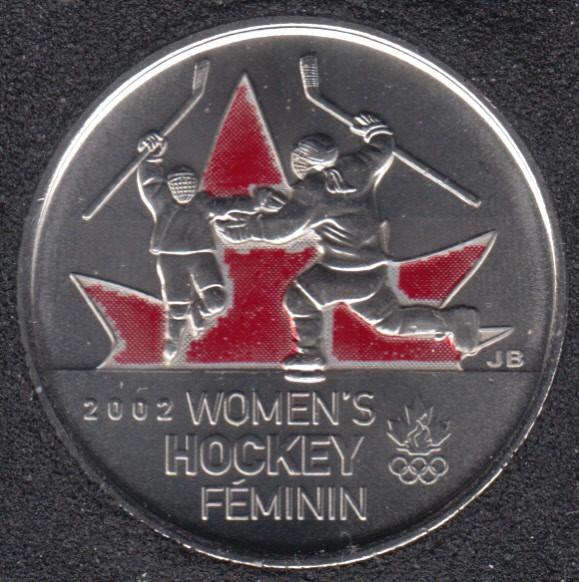 2009 - #5 B.Unc - Women's Hockey - Col. - Canada 25 Cents