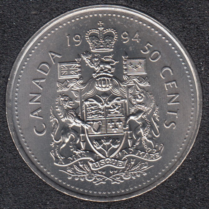 1994 - B.Unc - Canada 50 Cents