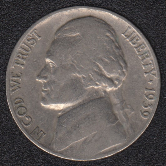 1939 - Jefferson - 5 Cents