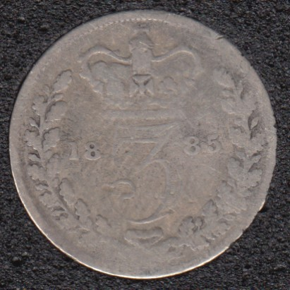1885 - 3 Pence - Great Britain