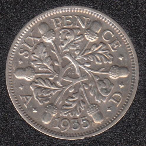 1935 - 6 Pence - Grande Bretagne