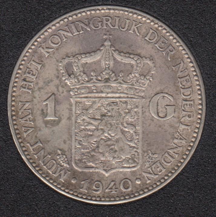 1940 - 1 Gulden - Netherlands