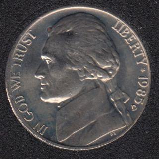 1985 D - Jefferson - B.Unc - 5 Cents