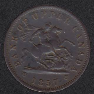 P.C. 1857 One Penny Bank Token - PC-6D