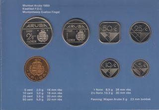 1989 - Aruba Mint Set