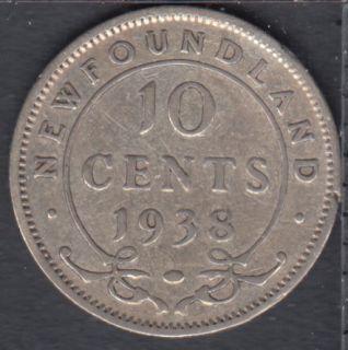 Terre Neuve - 1938 - 10 Cents