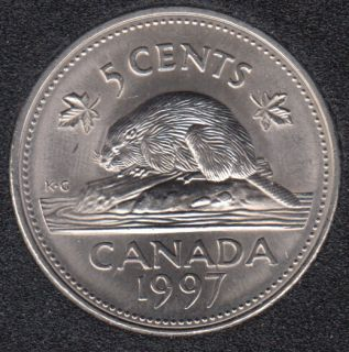 1997 - B.Unc - Canada 5 Cents