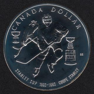 1993 - NBU - Canada Silver Dollar