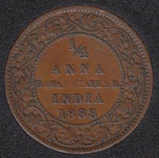 1888 - Princely States - Dewas - 1/4 Anna - Inde