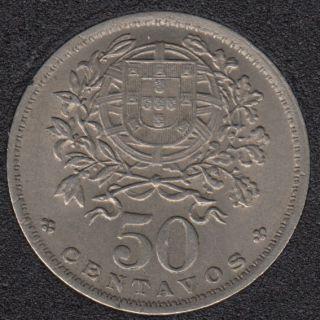 1952 - 50 Centavos - Unc - Portugal