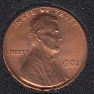 1982 - B.Unc - Small Date - Lincoln Small Cent