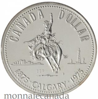 1975 DOLLAR EN ARGENT SPECIMEN