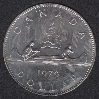 1979 - B.Unc - Nickel - Canada Dollar