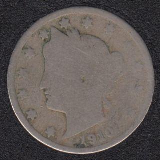 1910 - Liberty Head - 5 Cents