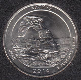 2014 D - Arches - 25 Cents