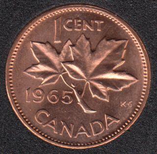 1965 - #3 B.Unc - LBB5 - Canada Cent