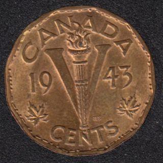 1943 - Tombac - AU - Canada 5 Cents
