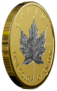 2018 - $200 - 99.999% 1 oz. Pure Gold Coin - 30th Anniversary of the Silver Maple Leaf