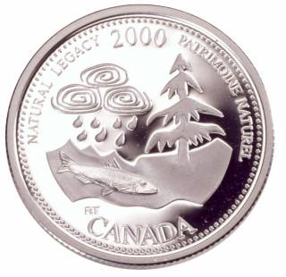 2000 Canada 25 Cents Sterling Silver Proof - Natural Legacy