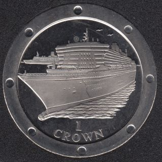 2004 - Crown - Bateau Queen Mary -  Ile de Man