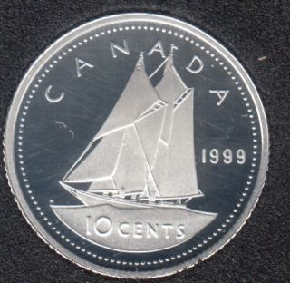 1999 - Proof - Argent - Canada 10 Cents