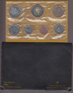 2005 Uncirculated (P-L) Mint Set