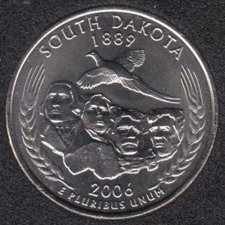 2006 D - South Dakota - 25 Cents