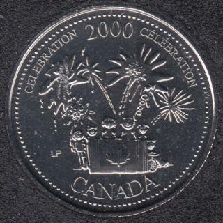 2000 - #7 B.Unc - Célébration - Canada 25 Cents