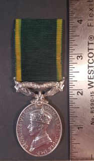 #1-268 Efficient Service Territorial Force George VI